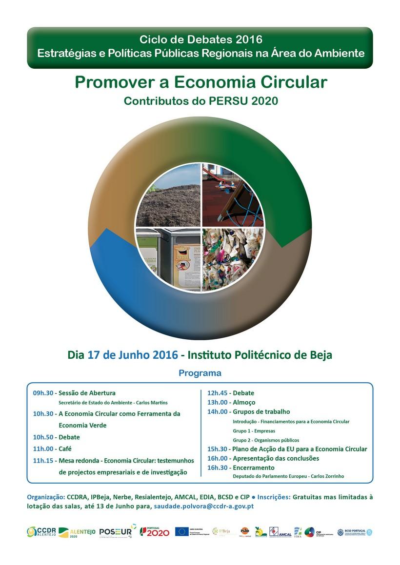 Ciclo de Debates 2016 - Estratégias e Politicas Regionais na Área do Ambiente