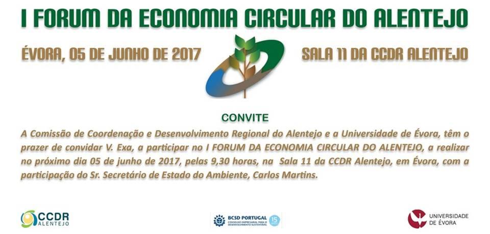 1º Forum da Economia Circular do Alentejo