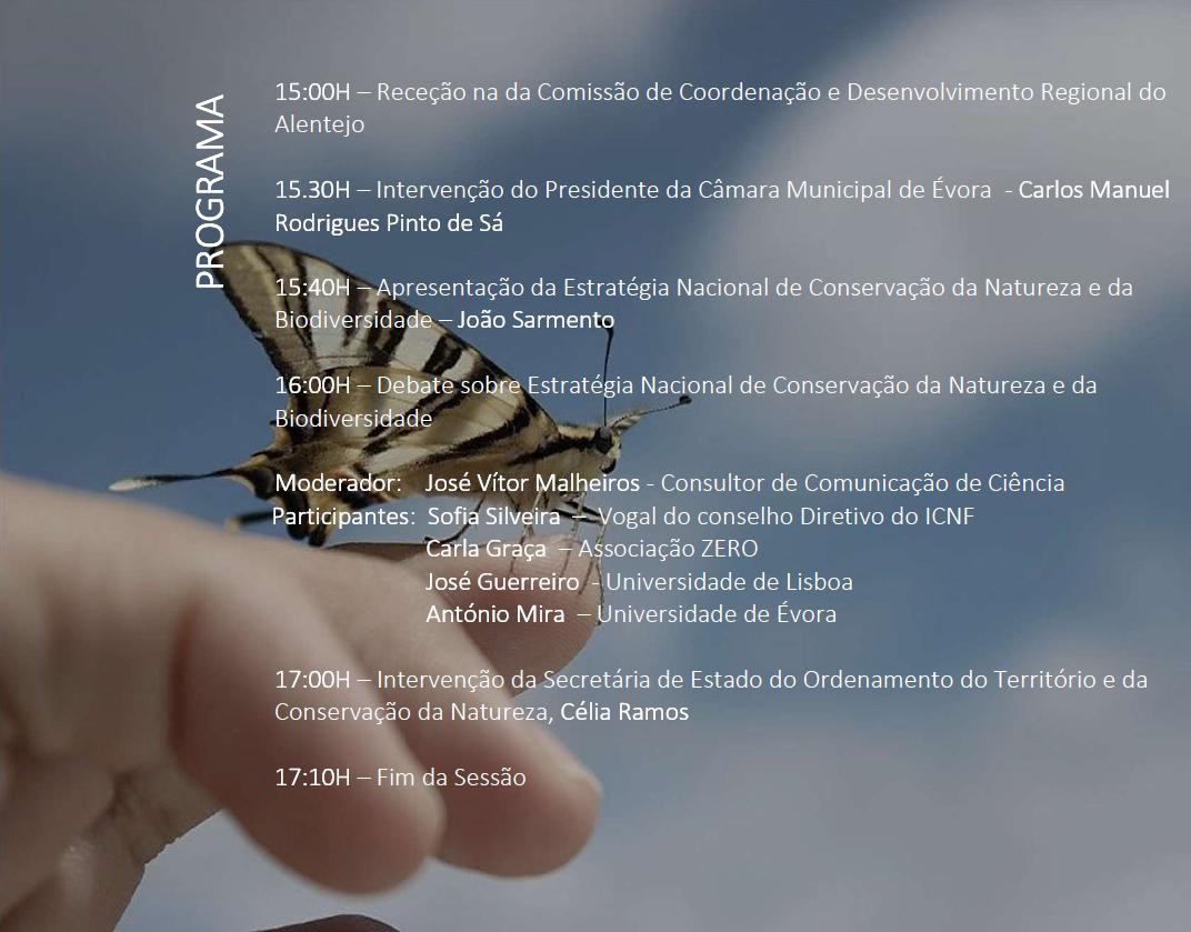 Consulta Pública da Estratégia Nacional para a Conservação da Natureza e Biodiversidade
