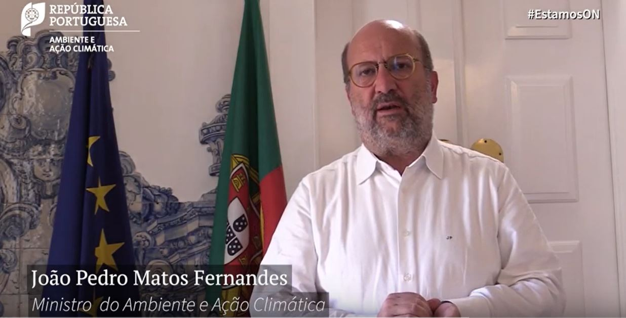Mensagem do Ministro Matos Fernandes sobre  a gestão de resíduos urbanos